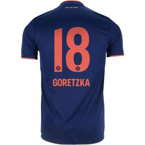 2019/20 adidas Leon Goretzka Bayern Munich 3rd Jersey