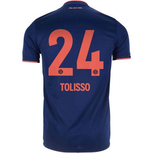 2019/20 adidas Corentin Tolisso Bayern Munich 3rd Jersey