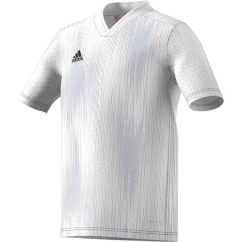 Kids adidas Tiro 19 Jersey – White