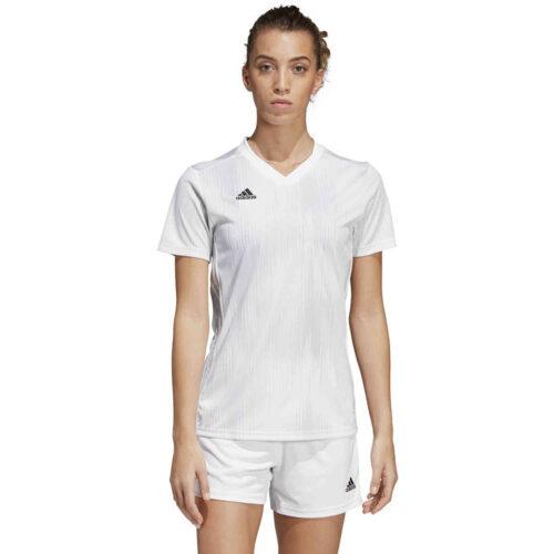 Womens adidas Tiro 19 Jersey – White
