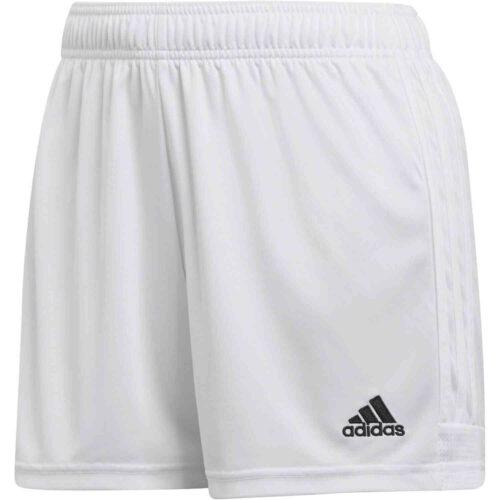Womens adidas Tastigo 19 Shorts – White