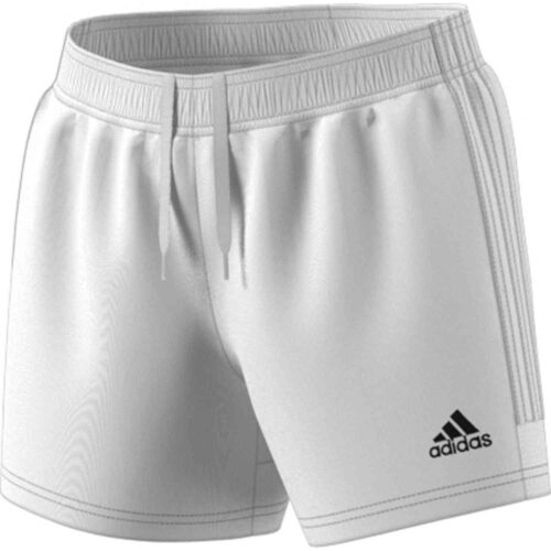 Womens adidas Tastigo 19 Shorts – White