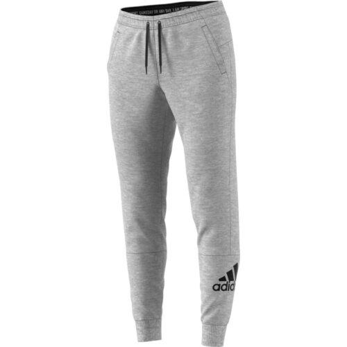 Womens adidas Badge of Sport Lifestyle Pants – Medium Grey Heather