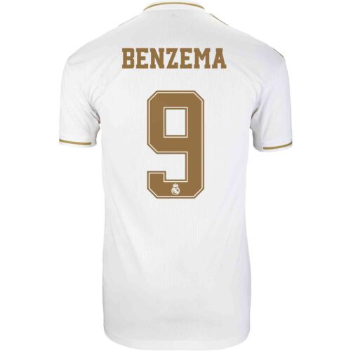 2019/20 Kids adidas Karim Benzema Real Madrid Home Jersey