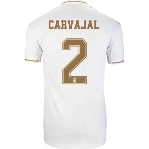 2019/20 Kids adidas Dani Carvajal Real Madrid Home Jersey