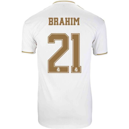 2019/20 Kids adidas Brahim Diaz Real Madrid Home Jersey