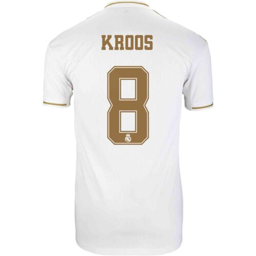 2019/20 Kids adidas Toni Kroos Real Madrid Home Jersey