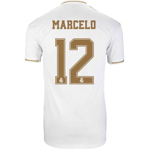 2019/20 Kids adidas Marcelo Real Madrid Home Jersey