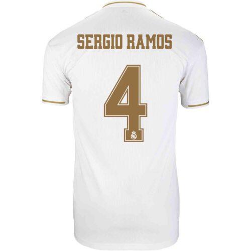 2019/20 Kids adidas Sergio Ramos Real Madrid Home Jersey