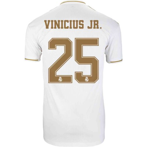 2019/20 Kids adidas Vinicius Jr Real Madrid Home Jersey
