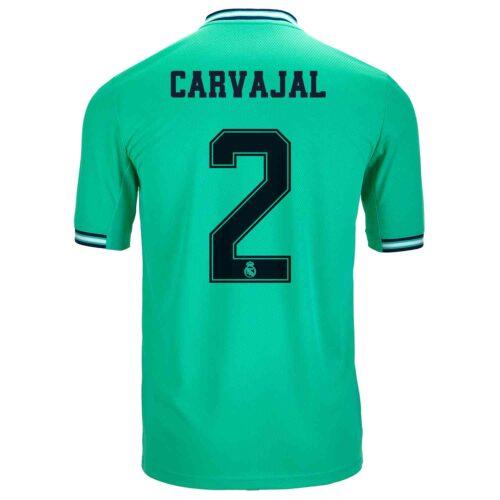2019/20 Kids adidas Dani Carvajal Real Madrid 3rd Jersey