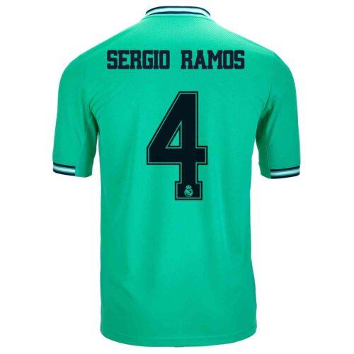 2019/20 Kids adidas Sergio Ramos Real Madrid 3rd Jersey
