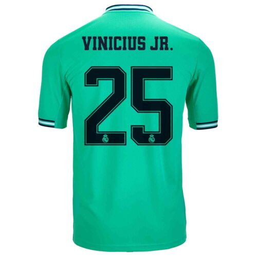 2019/20 Kids adidas Vinicius Jr Real Madrid 3rd Jersey
