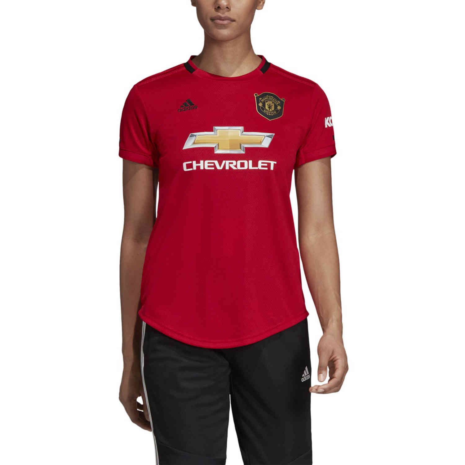 womens adidas manchester united home jersey 2019 20 soccerpro womens adidas manchester united home jersey 2019 20