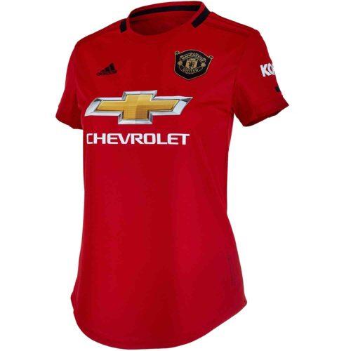 2019/20 Womens adidas Manchester United Home Jersey