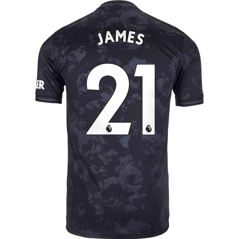 2019/20 Kids adidas Daniel James Manchester United 3rd Jersey - SoccerPro