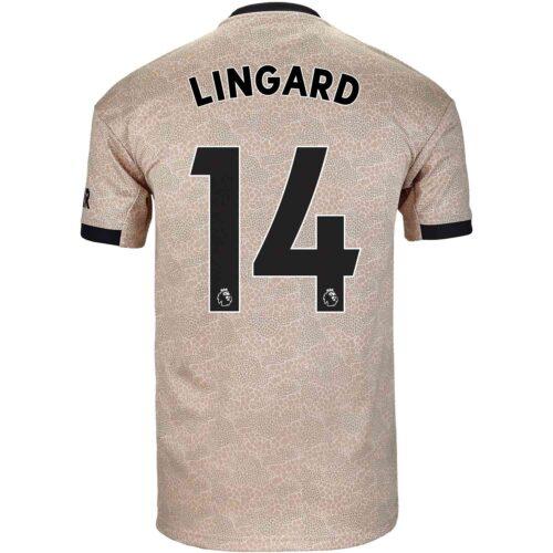 2019/20 Kids adidas Jesse Lingard Manchester United Away Jersey