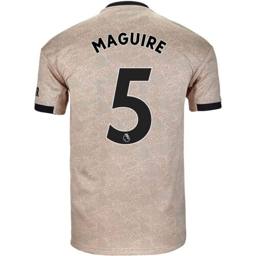 2019/20 Kids adidas Harry Maguire Manchester United Away Jersey