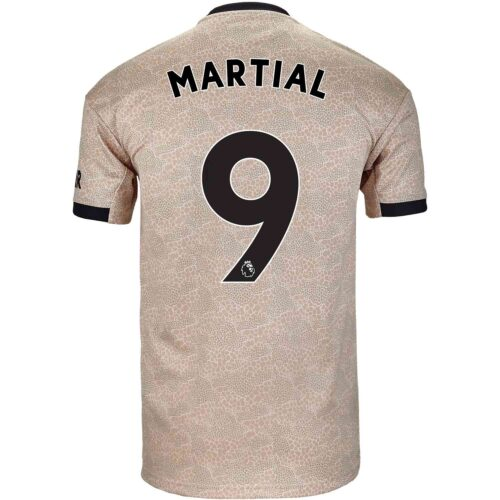 2019/20 Kids adidas Anthony Martial Manchester United Away Jersey