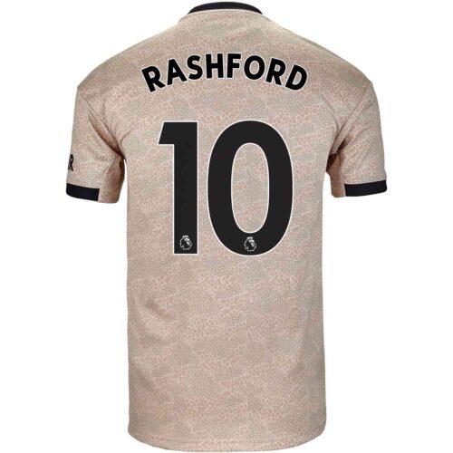 2019/20 Kids adidas Marcus Rashford Manchester United Away Jersey