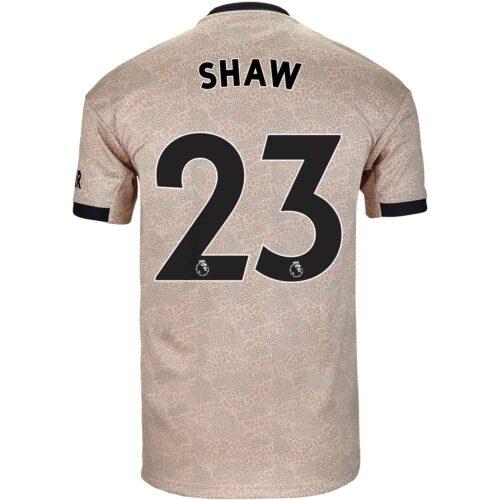 2019/20 Kids adidas Luke Shaw Manchester United Away Jersey