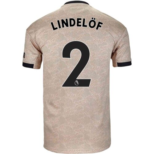 2019/20 Kids adidas Victor Lindelof Manchester United Away Jersey