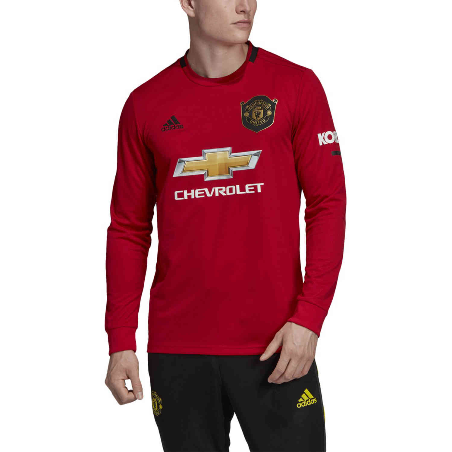 adidas Manchester United L/S Home Jersey - 2019/20 - SoccerPro