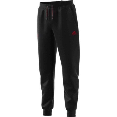 Kids adidas Manchester United Sweatpants – Black