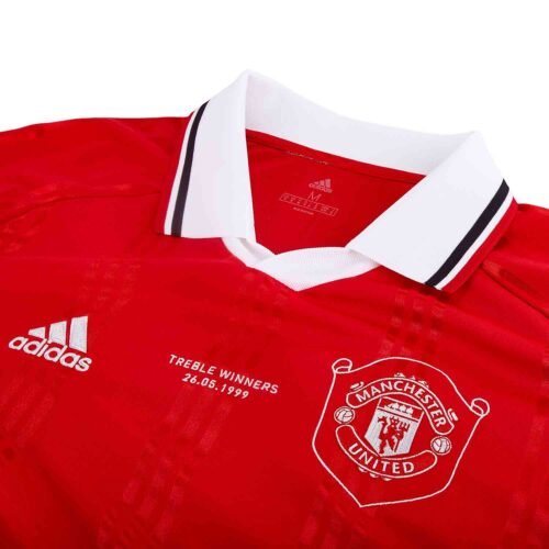 adidas Manchester United L/S Retro Jersey – Real Red