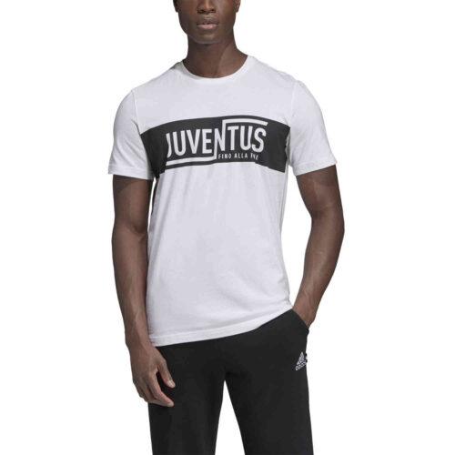 adidas Juventus Graphic Tee – White