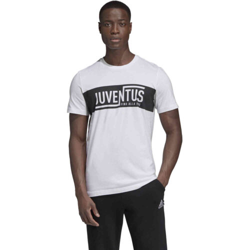 adidas Juventus Graphic Tee – White