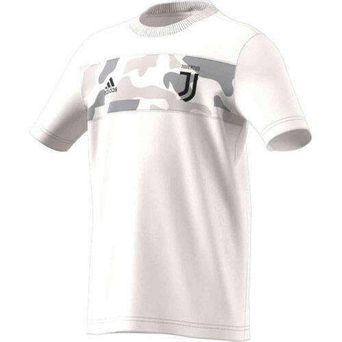 Kids adidas Juventus Graphic Tee – Core White