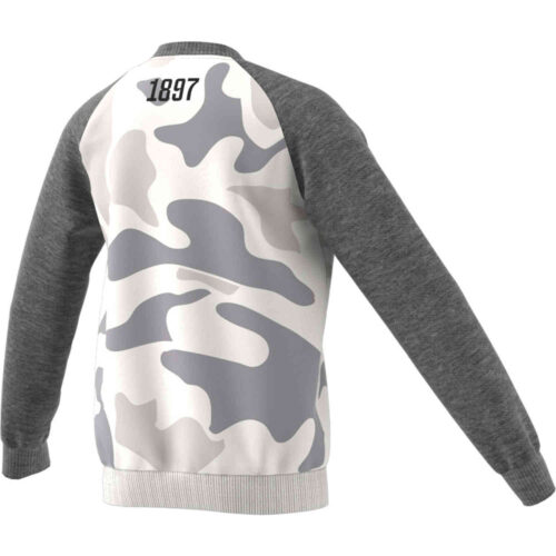 Kids adidas Juventus Crew Sweatshirt – Camo Print