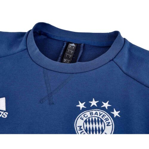 adidas Bayern Munich Crew Sweatshirt – Night Navy