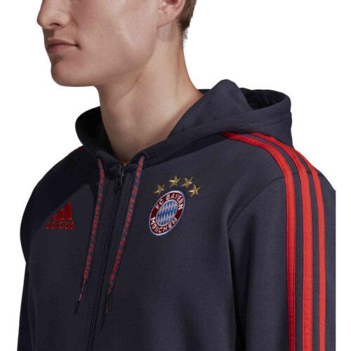 adidas Bayern Munich Full Zip Hoodie – Trace Blue