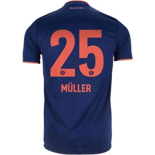2019/20 Kids adidas Thomas Muller Bayern Munich 3rd Jersey