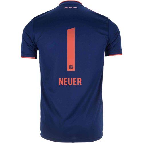 2019/20 Kids adidas Manuel Neuer Bayern Munich 3rd Jersey