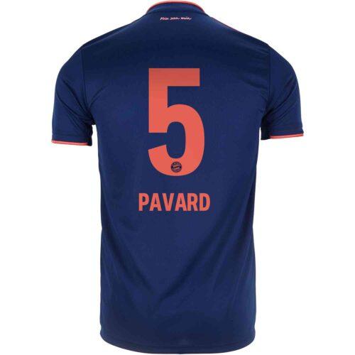 2019/20 Kids adidas Benjamin Pavard Bayern Munich 3rd Jersey