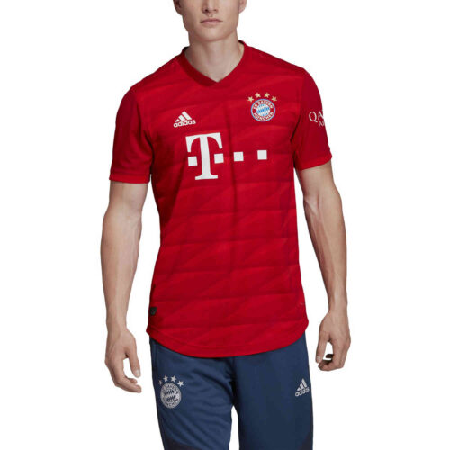 2019/20 adidas Bayern Munich Home Authentic Jersey