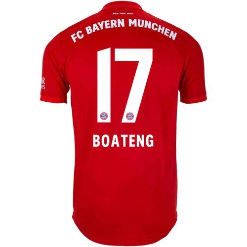 2019/20 adidas Jerome Boateng Bayern Munich Home Authentic Jersey