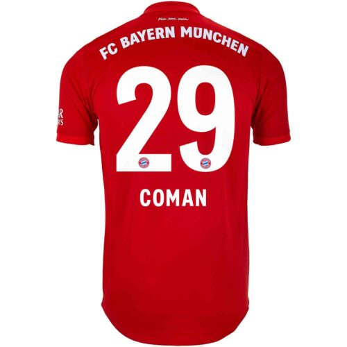 2019/20 adidas Kingsley Coman Bayern Munich Home Authentic Jersey