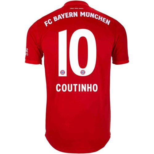 2019/20 adidas Philippe Coutinho Bayern Munich Home Authentic Jersey