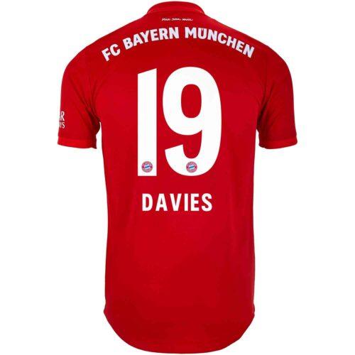 2019/20 adidas Alphonso Davies Bayern Munich Home Authentic Jersey