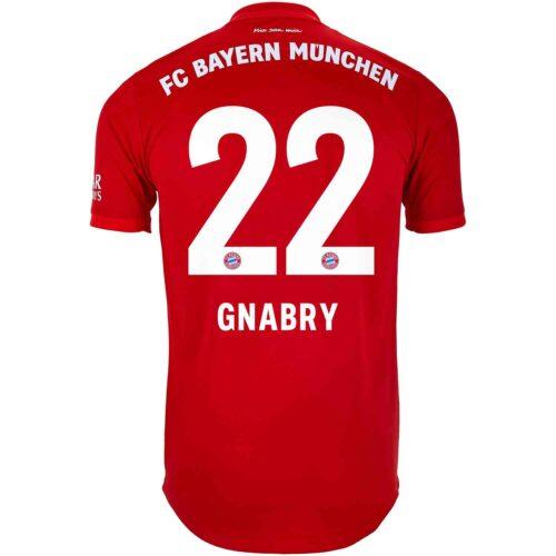 2019/20 adidas Serge Gnabry Bayern Munich Home Authentic Jersey