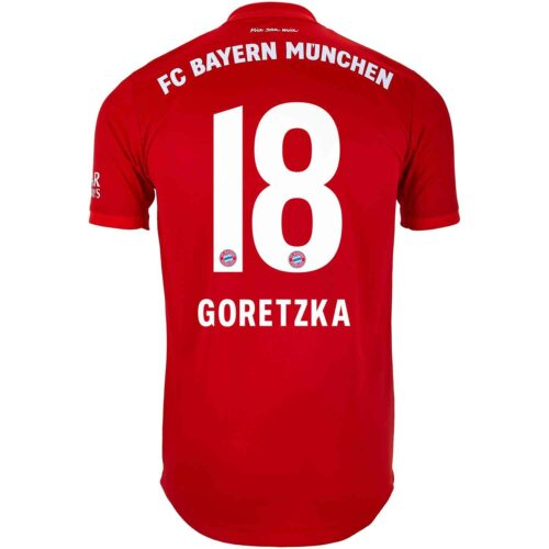 2019/20 adidas Leon Goretzka Bayern Munich Home Authentic Jersey