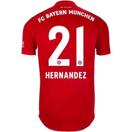 2019/20 adidas Lucas Hernandez Bayern Munich Home Authentic Jersey