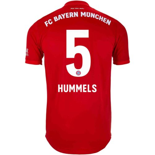 2019/20 adidas Mats Hummels Bayern Munich Home Authentic Jersey