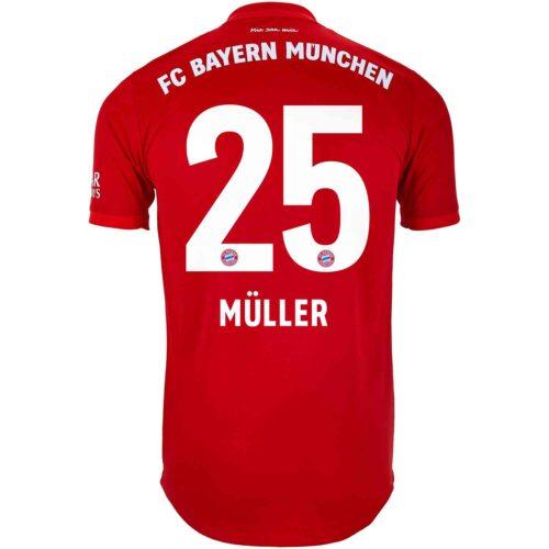 2019/20 adidas Thomas Muller Bayern Munich Home Authentic Jersey