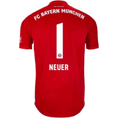 2019/20 adidas Manuel Neuer Bayern Munich Home Authentic Jersey