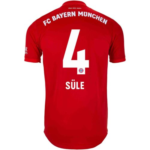 2019/20 adidas Niklas Sule Bayern Munich Home Authentic Jersey
